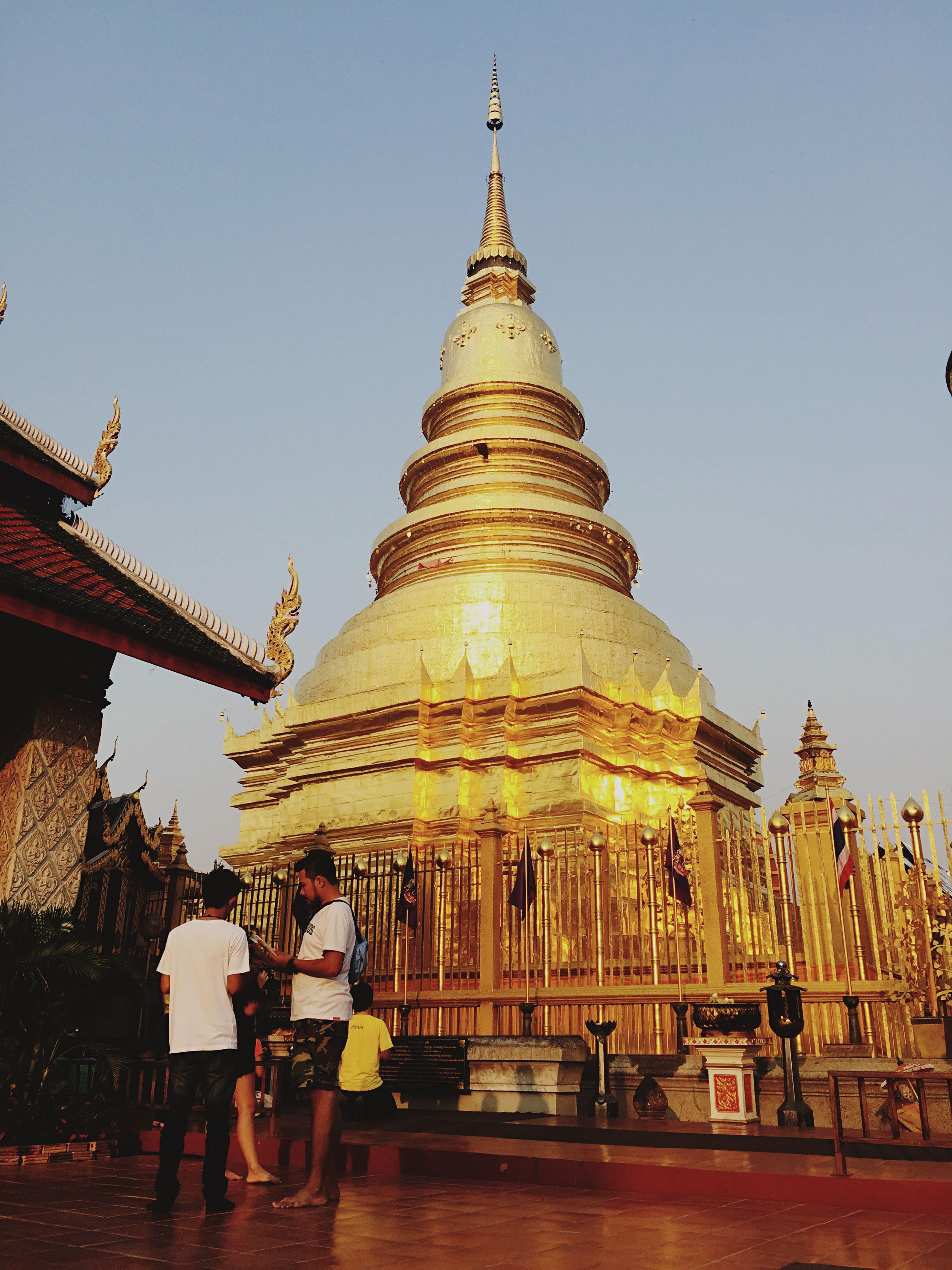 Wat Phra That Hariphunchai Thailand Temple