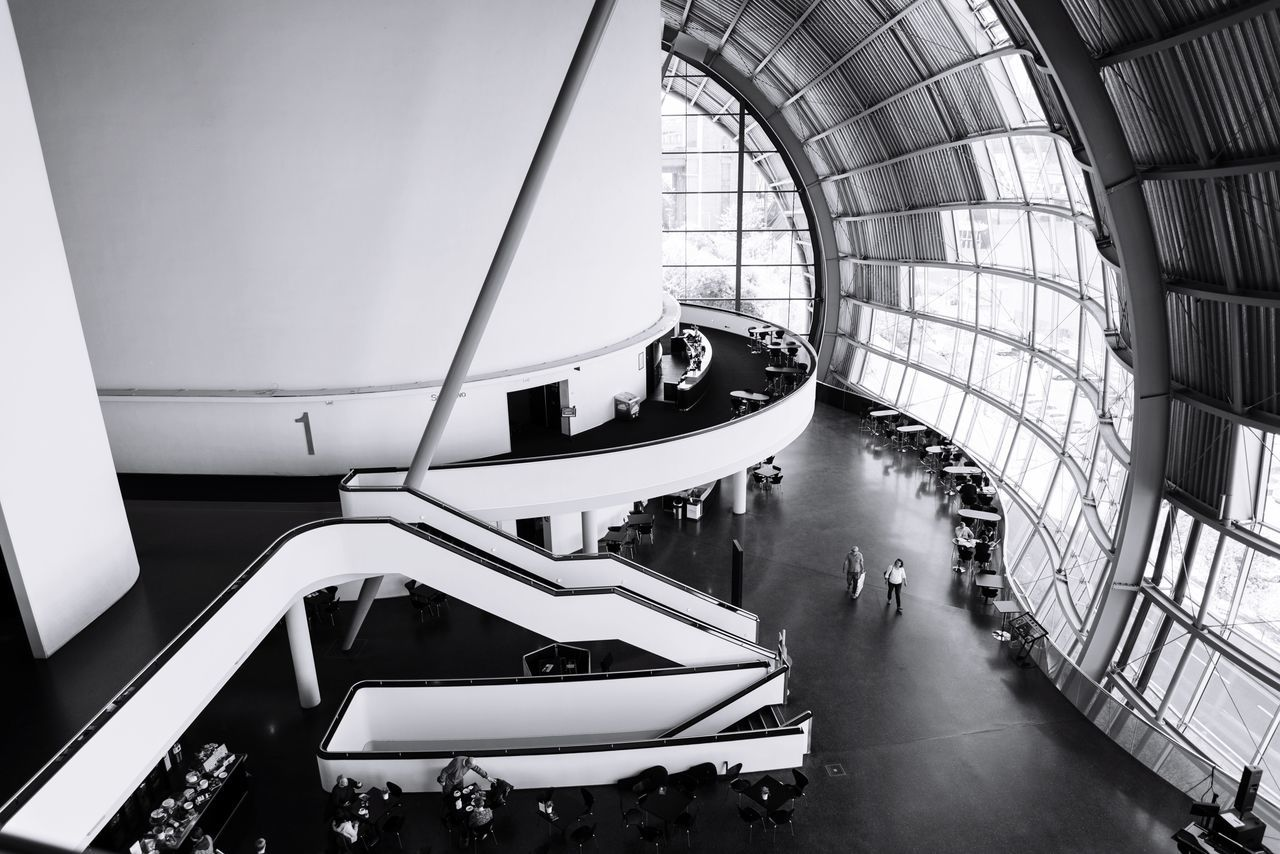 The Architect - 2017 EyeEm Awards Thesagegateshead Architecture Indoors  Built Structure Modern Chair Transportation Futuristic No People Day Nikond750 Real People Lifestyles Eyem Gallery