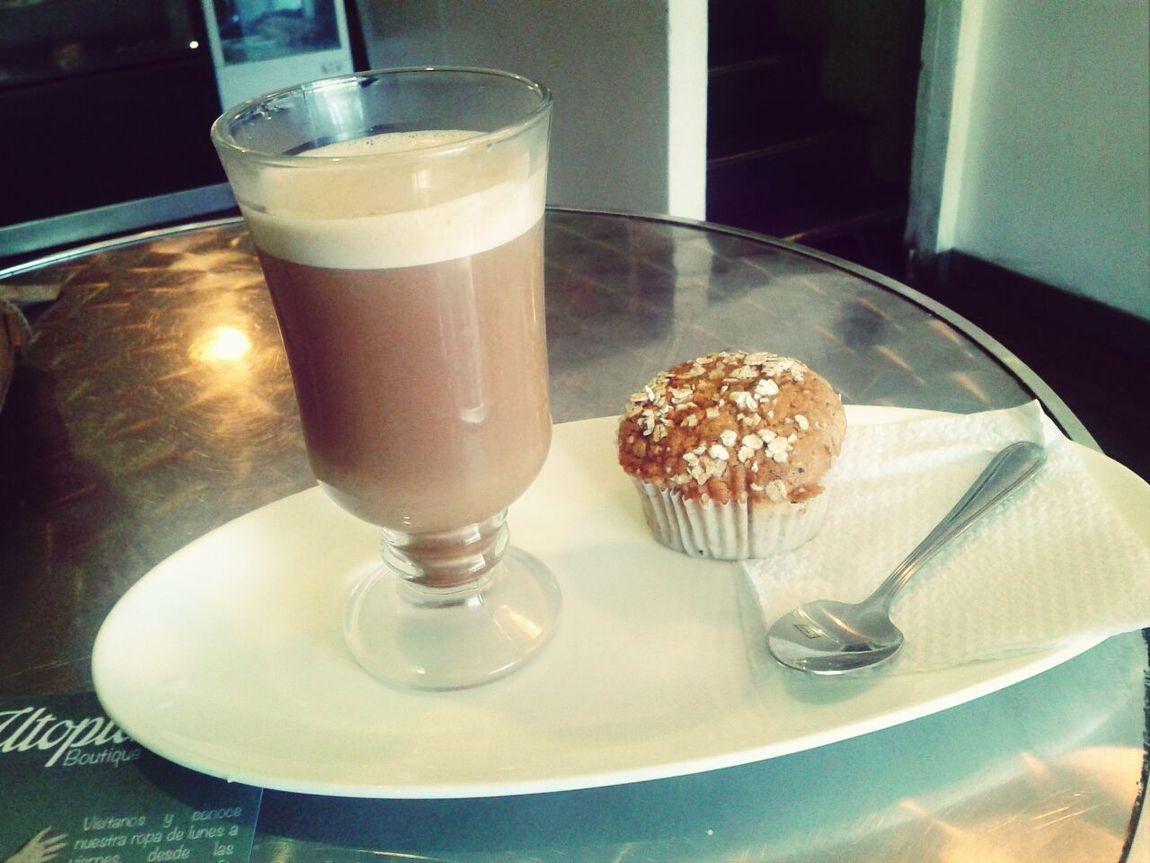 Y De Postre! Muffin Carrot Muffin Coffee Time H libre, almuerzo y postre ♡