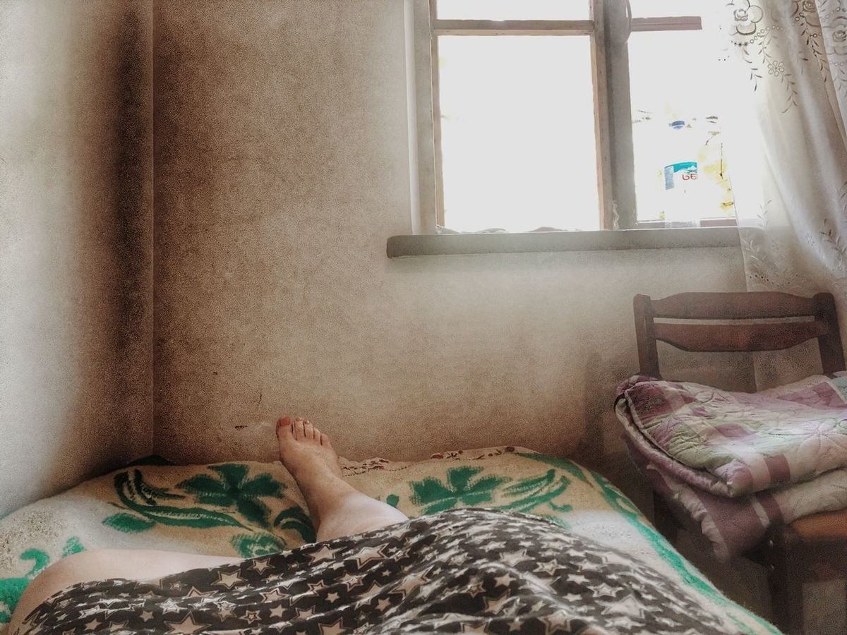 Vacations Indoors  Bed Human Body Part Window One Person Curtain Human Hand Bedroom Home Interior Real People Human Leg Low Section Day Pillow People Warm Colors Warmthandsunshine When Words Are Not Enough To Express Where Is My Mind? Where There Is Light, There Is Love. Whatever Stronger Than Ever Georgia Say Hello To Happiness