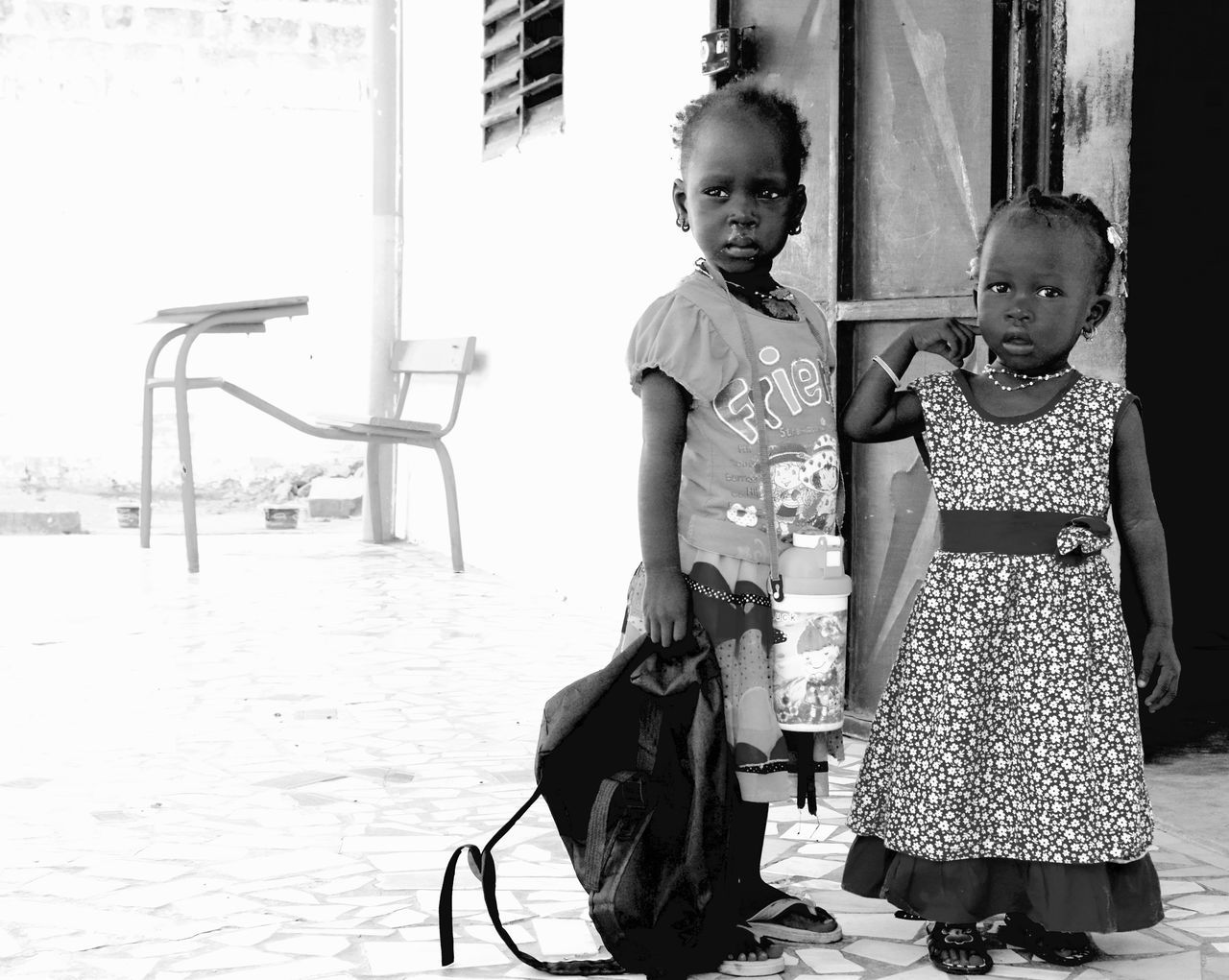 Facetoface African School Portrait Children School Life  Africa Bnwportrait The Portraitist - 2016 EyeEm Awards
