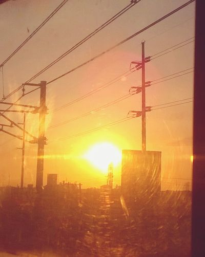 My Country In A Photo riding the afternoon train Helloooooo Sunset Streetphotography Public Transportation Snapshots Of Life On The Way