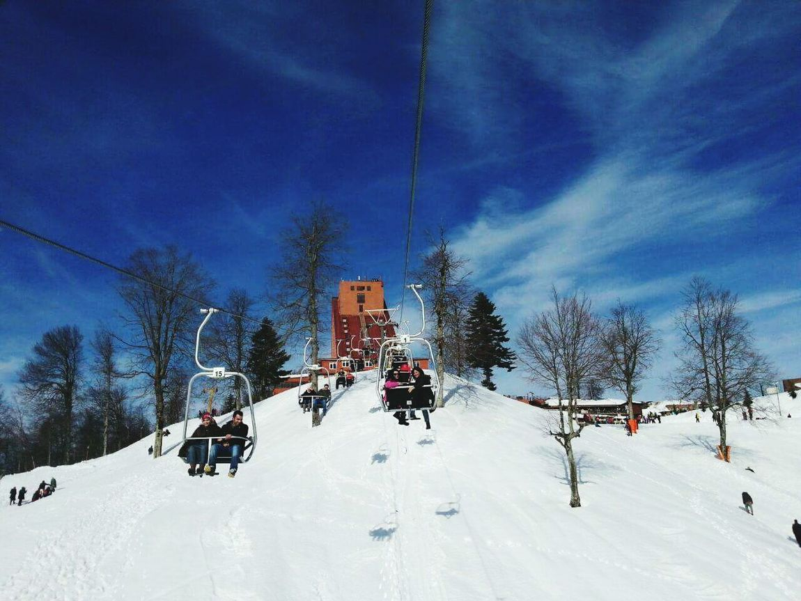 Turkey Kartepe Snowy Days... Cold Winter ❄⛄ That's Me! Snow ❄ Chairlift Telesiyej Kartepe Karlı Güne Merhaba :)) A Snowy Day Snow❄⛄ Snowing