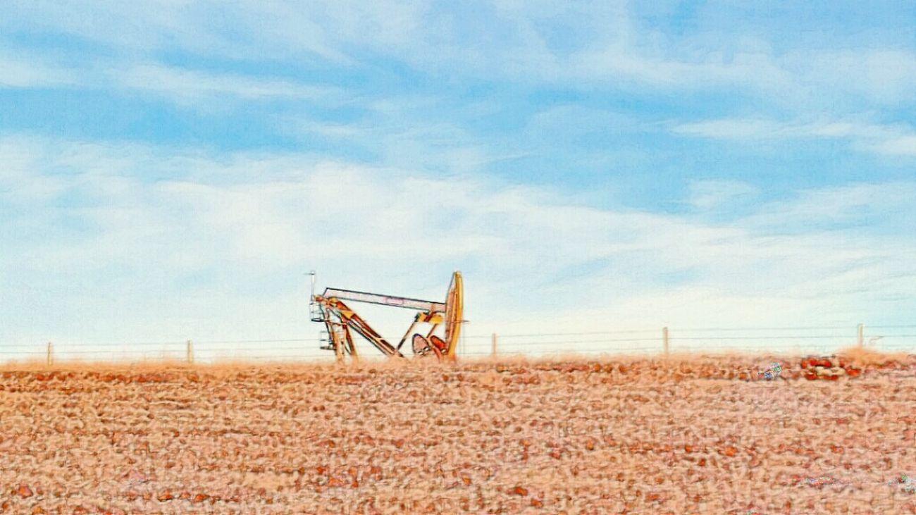 Oil Rig Oilfield Northdakota Travel Photography