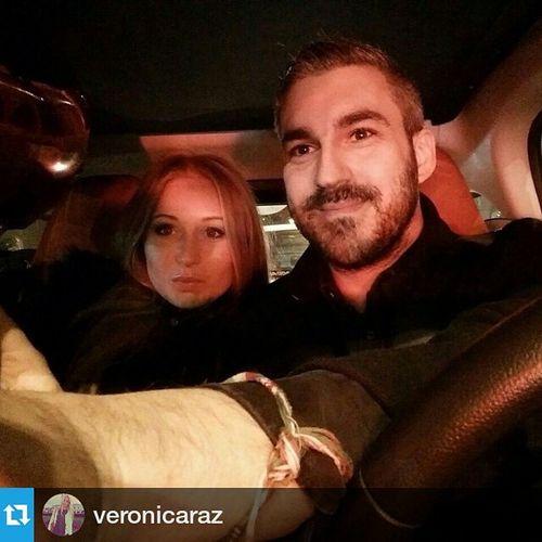 Repost @veronicaraz ・・・ 😍😘❤️💏 Amore Inthecar Svalentine surprise