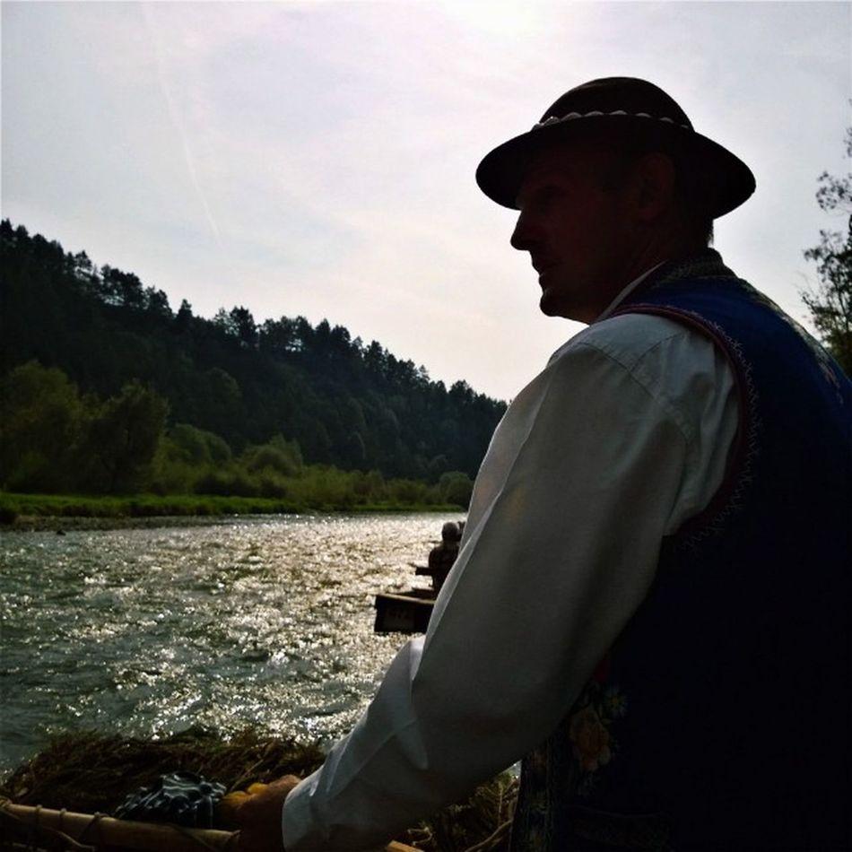 Dunajcem... Water Flisak Mountain River travel loves_travels loves_poland igersoftheday swim