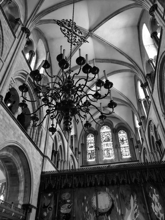 Chandelier inside Chichester Cathedral Chandelier Cathedral Blackandwhite Architecture Gothic Gothic Architecture Chichester Cathedral Cathedral Window Stone Architecture Stone Archway HuaweiP9 Huaweiphotography Monochrome Fine Art Photography