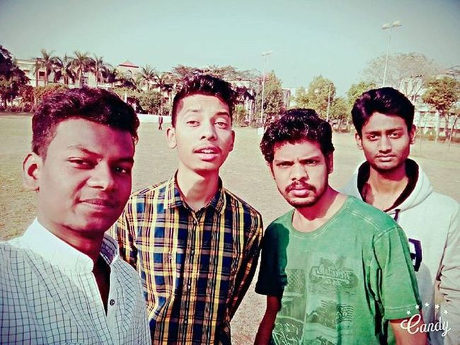 26thjanuary 2016 Morning Republicday Flag Flaghoisting Afterflaghoisting College Collegeground Friends Bharatmatakijai 🙋✌😃😊😋