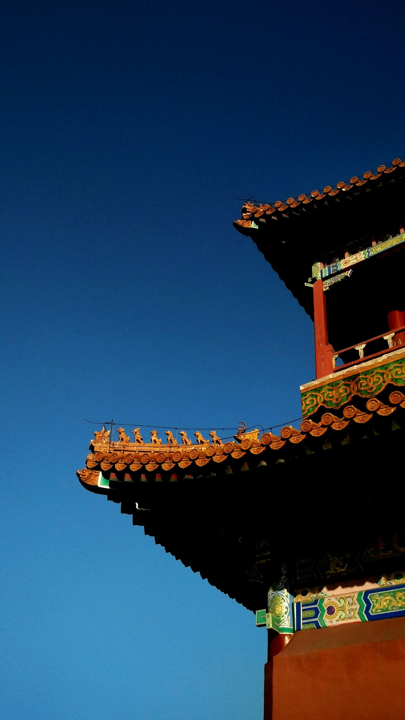 Architecture Sky No People Travel Historic City Historical Building History Architecture Beijing, China Travel Steps The Imperial Palace