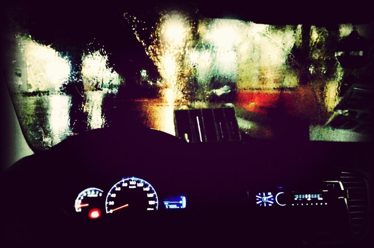 On The Road With BlaBlaCar Inside The Car Taking Photos Rain