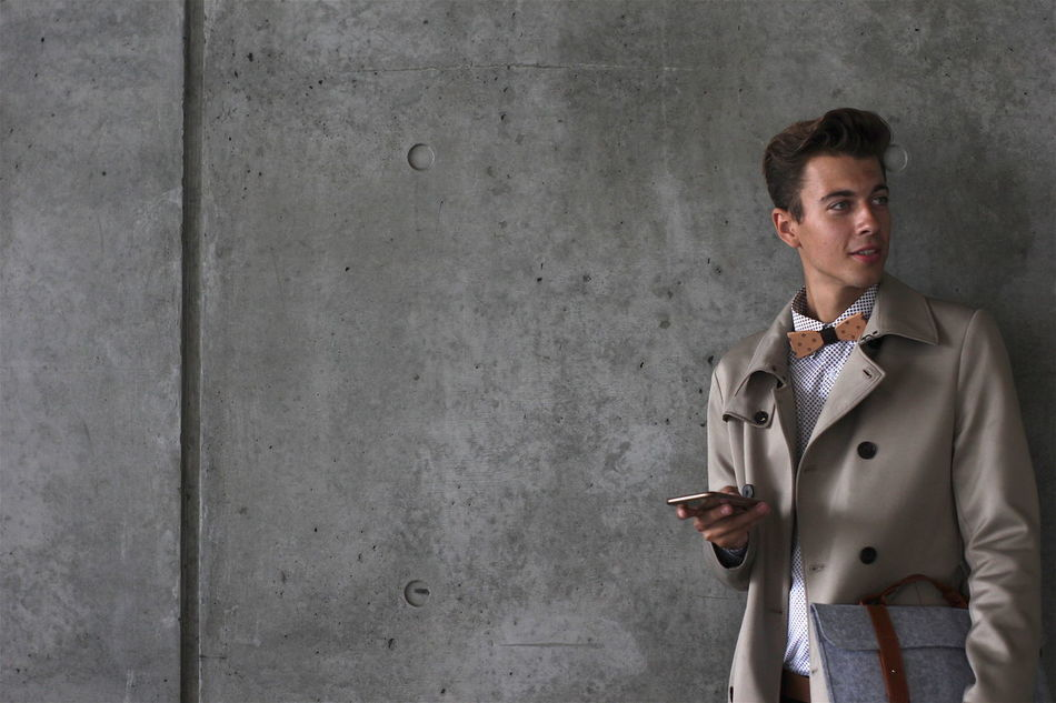 Beautiful stock photos of fashion,  20-24 Years,  Bow Tie,  Casual Clothing,  Caucasian Ethnicity