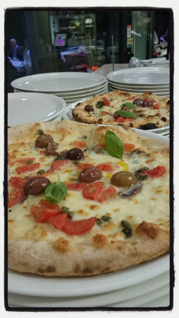 pizza, food, food and drink, ready-to-eat, meal, freshness, italian food, unhealthy eating, appetizer, gourmet, cheese, slice, plate, temptation, table, indulgence, fast food, cooked, no people, indoors, snack, close-up, day
