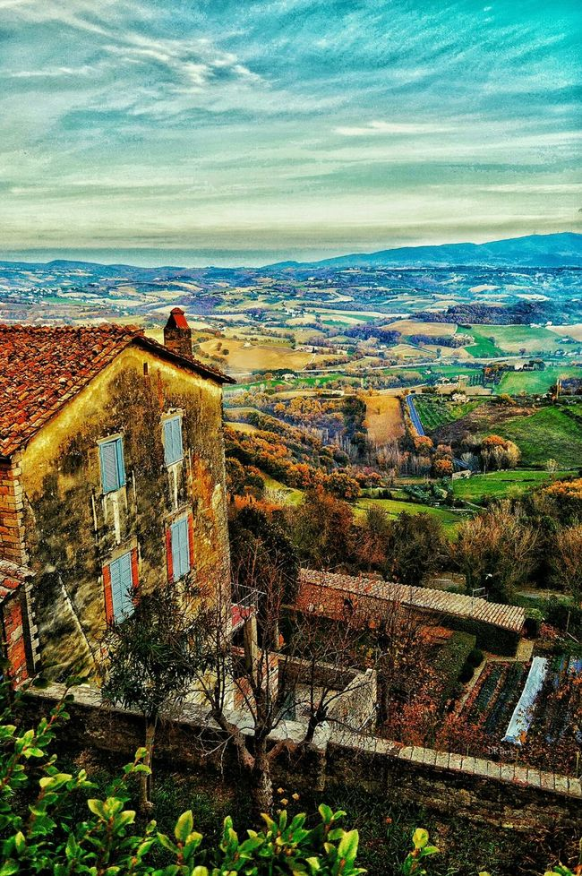 """Lunch Break View"" - Todi, Italia Todi  Italia Italy Photobydperry Vista Landscape Landscape_photography"