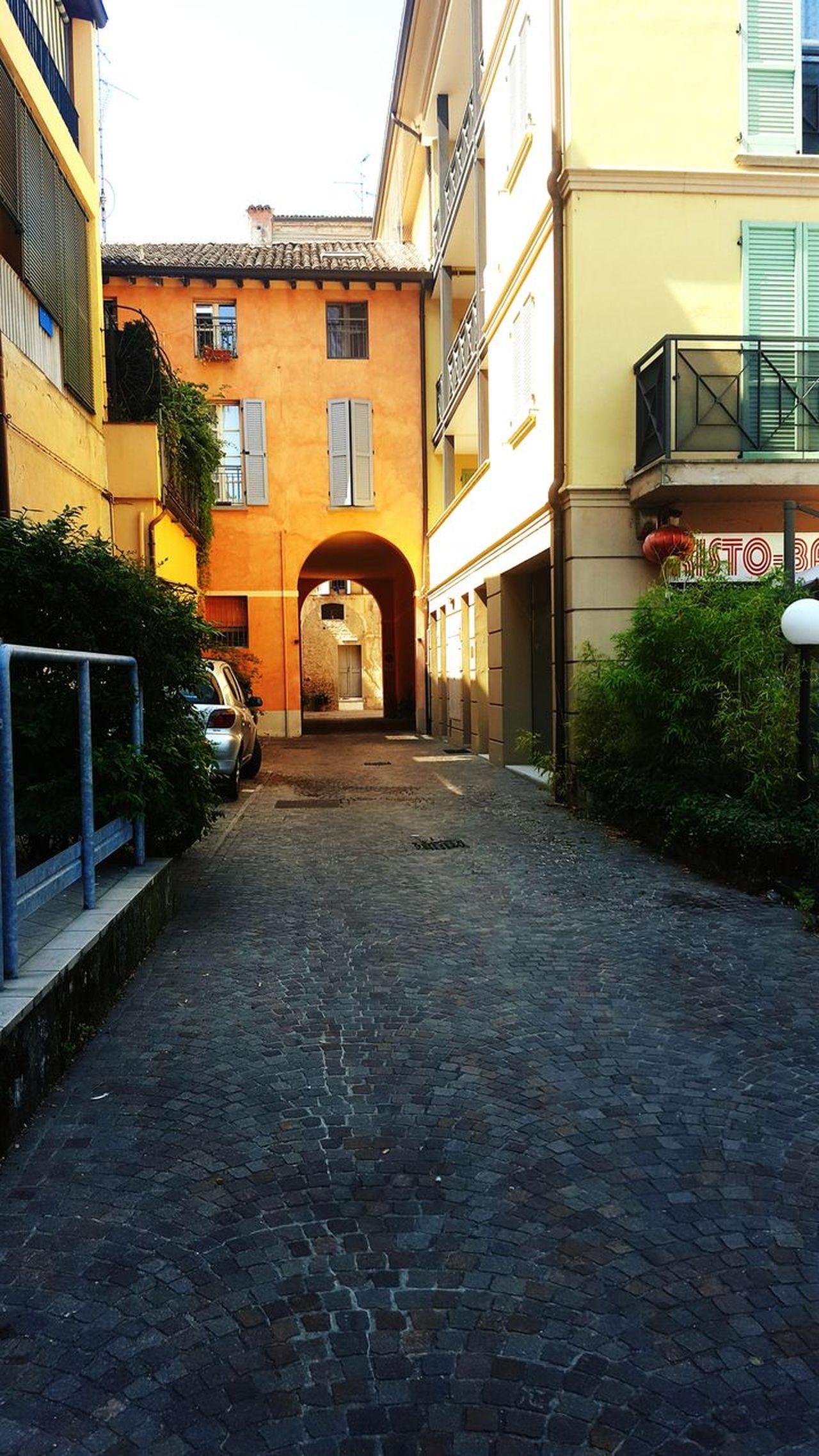 Old Vintage Buildings Italy Summer