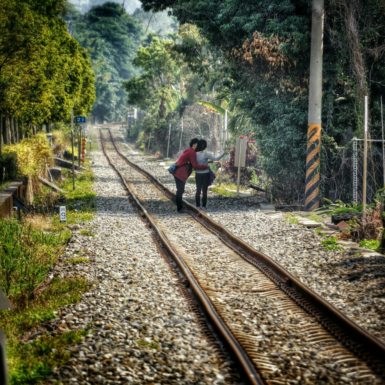 .戀人 lovers Portrait Train What I Saw The View And The Spirit Of Taiwan 台灣景 台灣情 Streetphotography