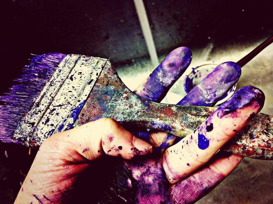 Beautiful stock photos of artist, Brush, Close-Up, DIY, Human Hand