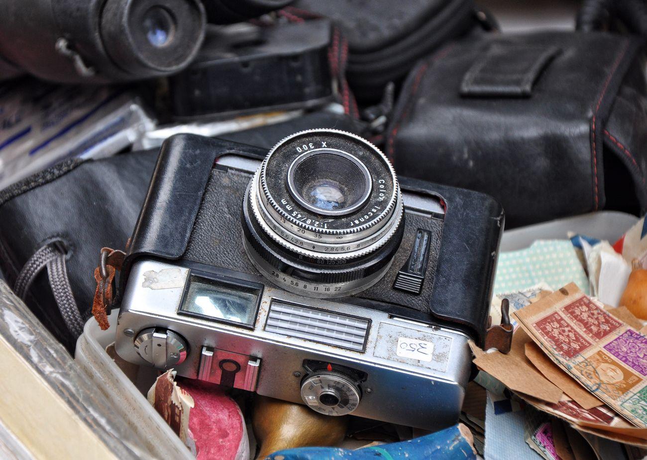 Photography Old Flea Markets