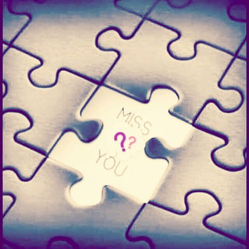 Puzzle  Mylife Mancanze Love Serenity Tassello Disagio Missyou Why