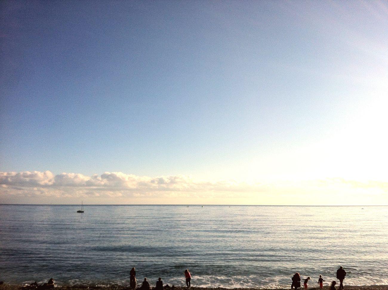 Enjoying The Sun Mediterranean Sea