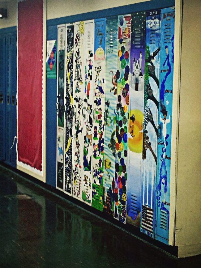 Locker Art Highschool Locker Schoolart Taking Photos
