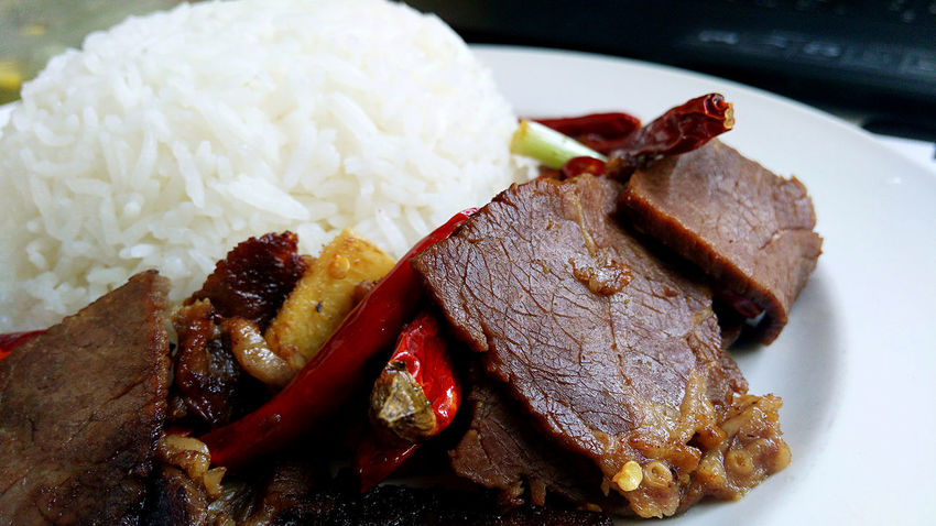 Food Food Porn Foodphotography Beef Chinese Food Roastbeef Spicy Beef What's For Dinner? What's For Lunch? EyeEmBestPics EyeEmbestshots Eyeemphotography EyeEm Best Shots Enjoying Life