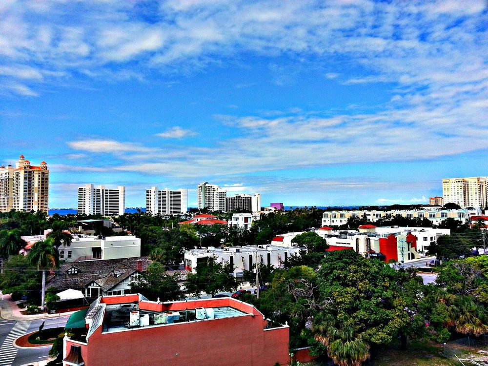 A great view of Sarasota Cityscapes Sky And City Hdr_Collection