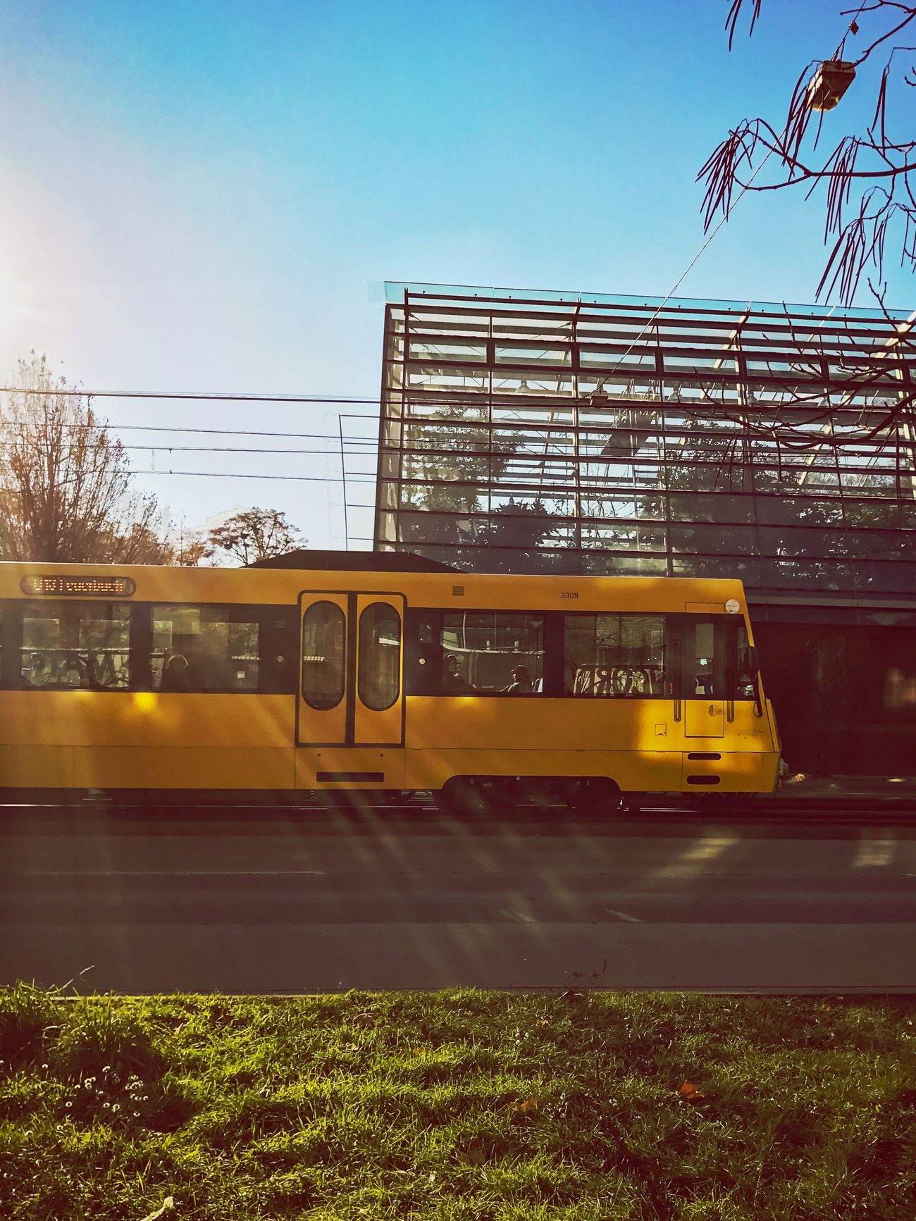 Transportation Clear Sky Mode Of Transport Outdoors Architecture No People Public Transportation Sky Built Structure Day Stuttgartmobilephotographers Stuttgart Stuttgart City 3XSPUnity Ssb IPhone7Plus Iphonephotography Stuttgart,Germany Public Transportation Stadtbahn