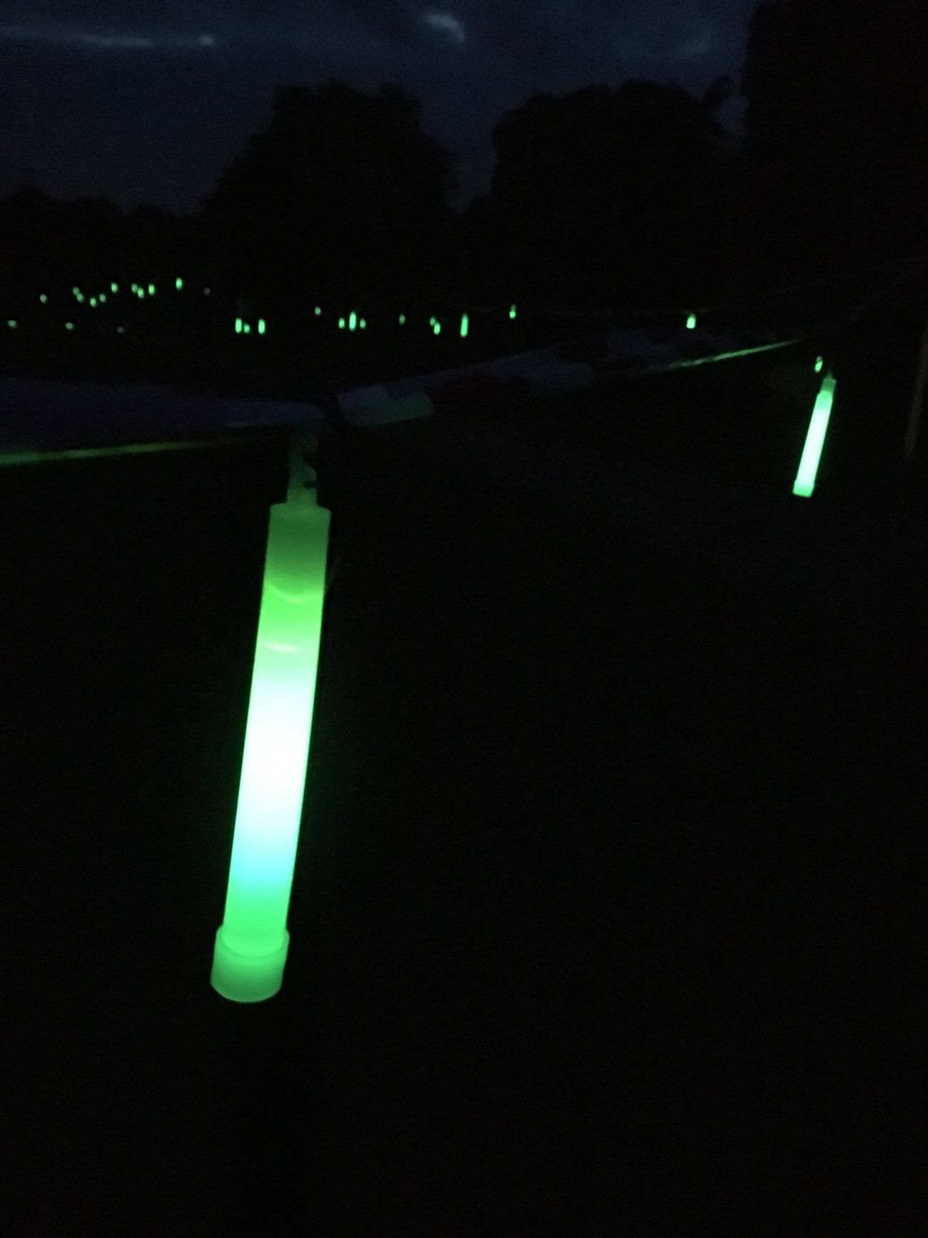 Illuminated Dark Night Electric Light Lit Darkness No People Green Color Glowsticks Glow EyeEm EyeEm Gallery Eye4photography  Eyeemphotography Eyeem Photography Artificial Light