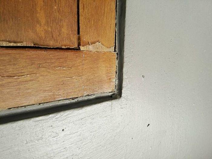 90° Pintu Sudut Sikusiku Pintu Kayu Minimalis 90derajat Corner Door Wood Minimal 90degree