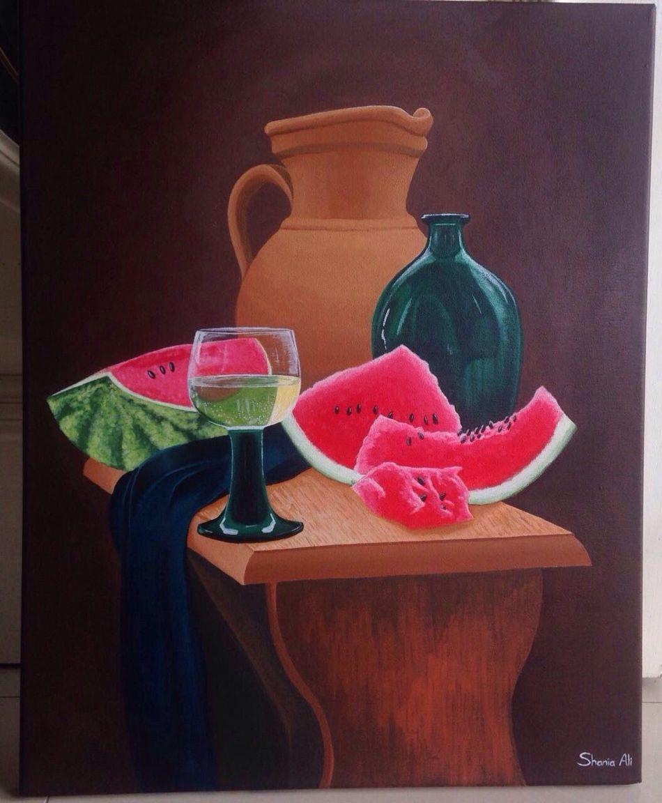 ArtWork Painting Canvas Canvas Paintings Canvas Art Kitchen Art My Daughter's Art