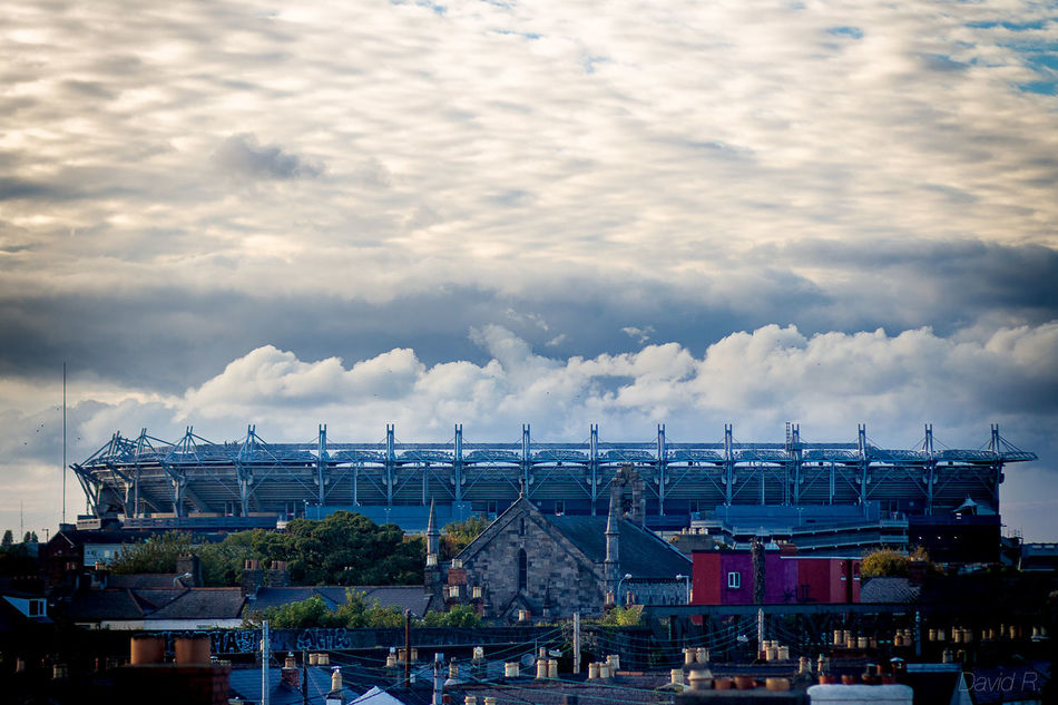 Architecture City Cityscape Cloud - Sky CrokePark Day Horizontal No People Outdoors Sky Sky And Clouds Skyporn Stadium Stadium Atmosphere