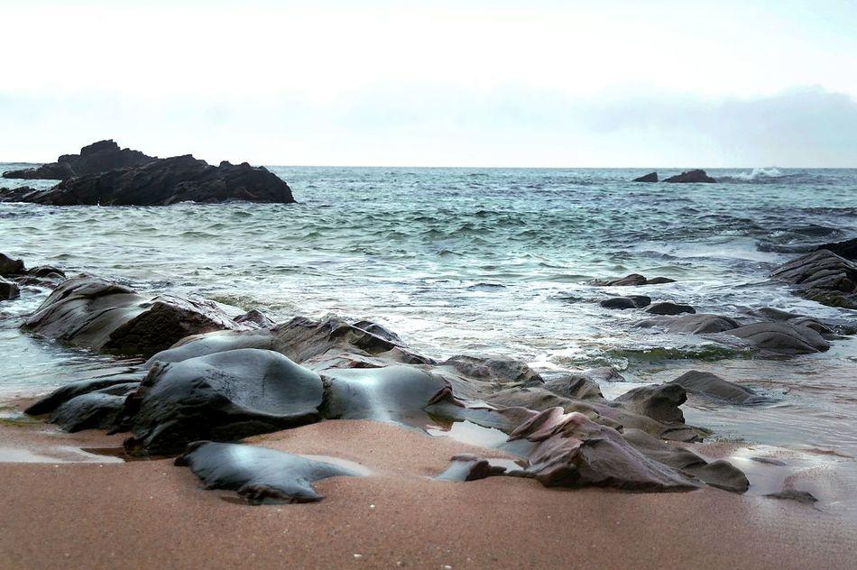 Gloomy Grey Sky Sea And Gangreung Rest