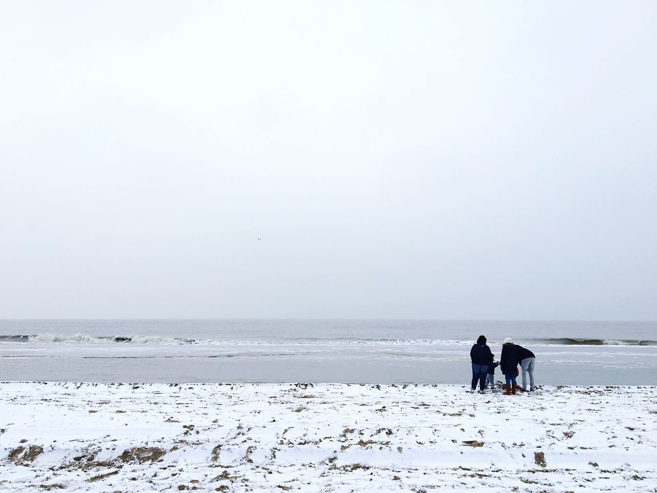 Sea Seaside Beach Snow Winter Domestic Animals Animal Themes Nature Mammal Winter One Animal Beauty In Nature Horizon Over Water Outdoors Real People Scenics Clear Sky Cold Temperature Pets Horse Water Sky Dog IPhoneography Iphonephotography