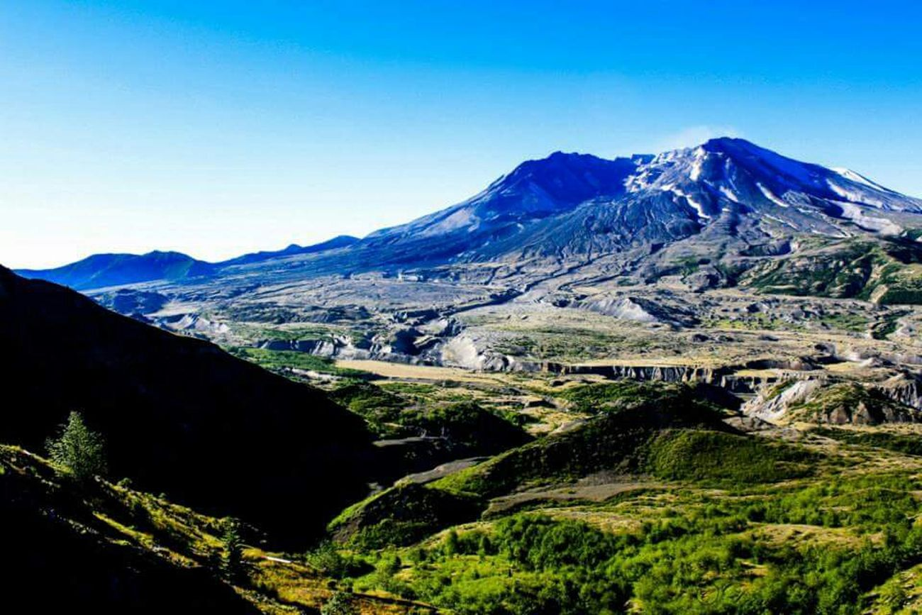 Scenic Drive Washington Mt Saint Helens