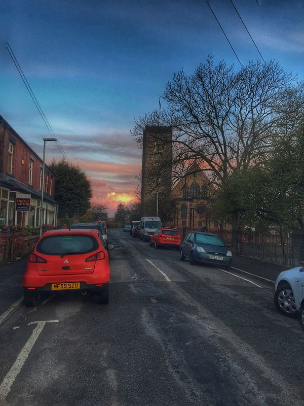 Hidden Gems  Oldham Sunrise Silhouette Sunset #sun #clouds #skylovers #sky #nature #beautifulinnature #naturalbeauty #photography #landscape Sunrise_Collection Home Is Where The Art Is Churches Landscape_photography Street Photography Streetphotography