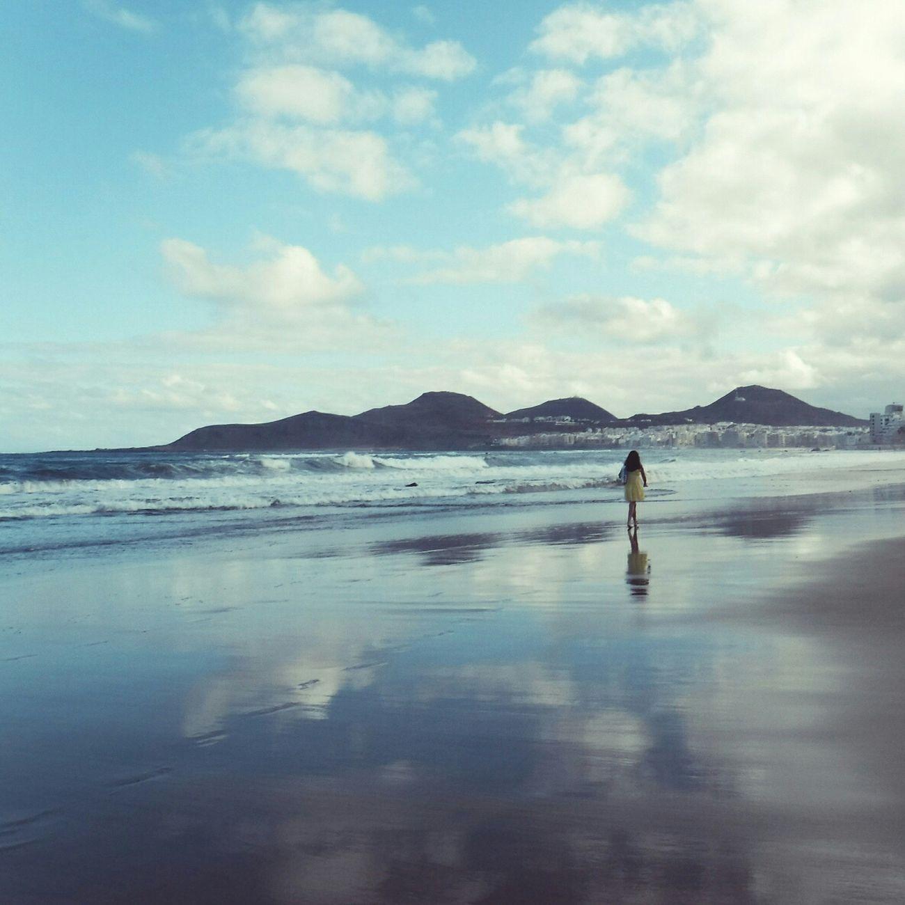Reflection Cloud - Sky Beach Sea Relaxing