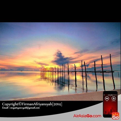 @AirAsiaGoID Sunrise di pantai Trikora kilometer 45 dari kota Tanjungpinang, pantai pasir putih ini menjadi salah satu tujuan wisata yang berada di Pulau Bintan tepatnya berada di Kabupateb Bintan Provinsi Kepulauan Riau GohAPPySun GohAPPyholiday AAGOID Iphonesia @robbihafzan130985 @zul0887 @anas_topbgt Wonderfullkepri Wonderfulindonesia IndonesiaOnly Indonesia_photography Ig_nesia Photooftheday Thephotosociety SeaScapePhotography Indonesianaturephotography Inap @AirAsiaGoID caption GohAPPySun GohAPPyholiday AAGOID Iphonesia