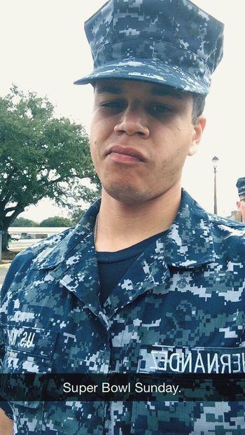 Super Bowl Sunday picture Super Bowl U.S. Navy Self Portrait
