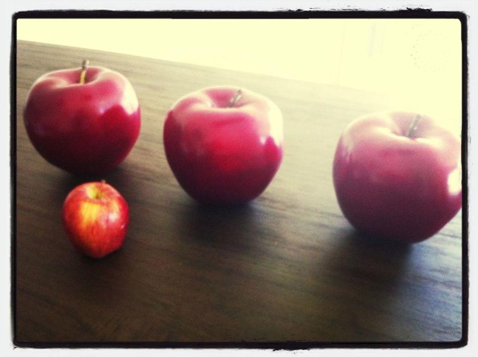 Apple Red Cute Baby Apple