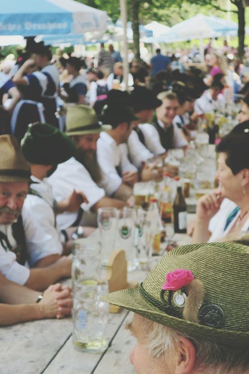 A social gathering with lots of beer. Taking Photos Check This Out Enjoying Life Traditional Clothing Lederhosen Bierfest Waldfest Beerfest Dirndl Beer Drinking Beer Traditional Culture Bayern Germany Bavaria Bayern People Together Summertime EyeEm Best Shots EyeEm Gallery Bier Biergarten Enjoying Life Group Of People Enjoyment Prost
