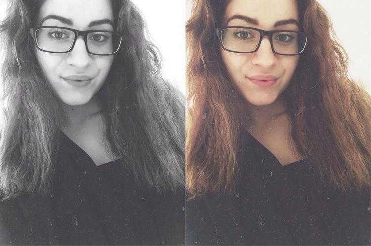 Glasses Smile Girl Hello World