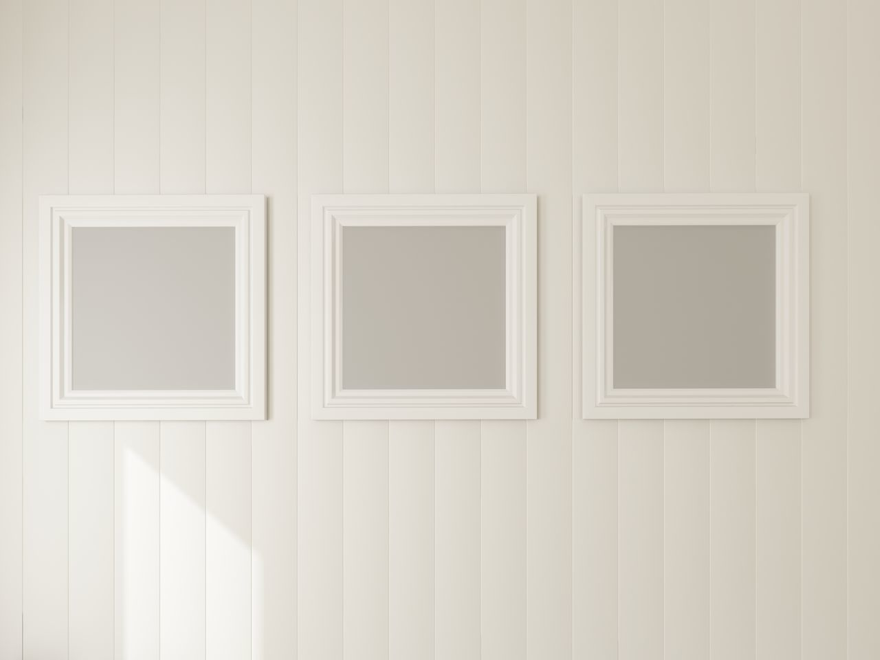 Backgrounds Blank Close-up Domestic Room Empty Museum No People Painted Image Paper Photograph Picture Frame White Color Wood - Material