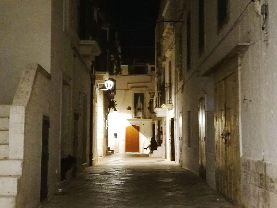 "Locorotondo Puglia South Italy Puglia Nightphotography Nobody Around Hello World Taking Photos ""Stones and Lights by Night"""