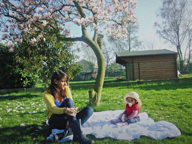 Happiness ♡ Garden Green Sky Tree Sun Babygirl Kid Love ♥ Lovely