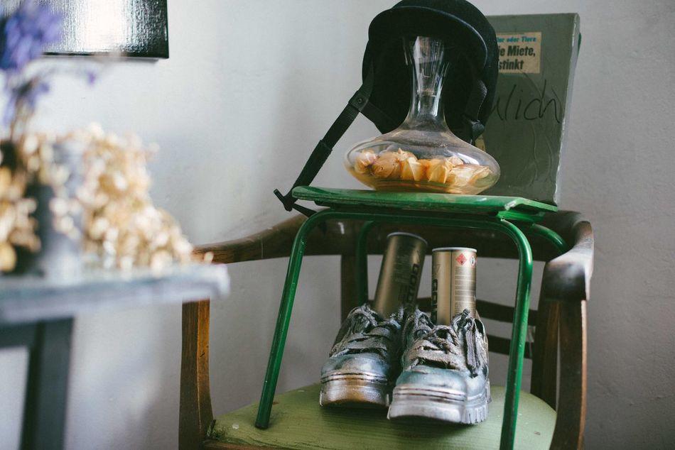 Lieblingsteil Silver Shoes Spraypaint Collections Randomshot Indoors