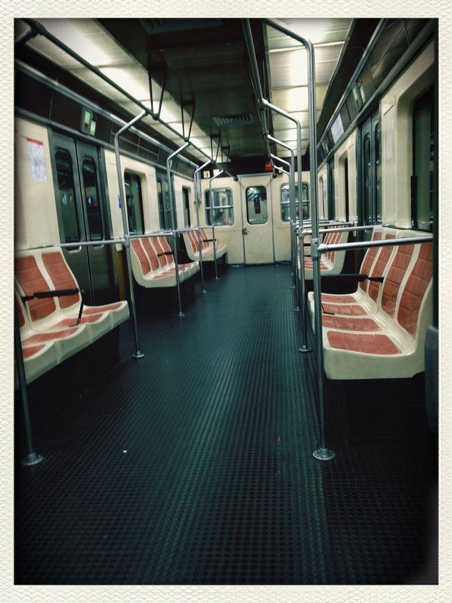 Alone Metro De Madrid  Night