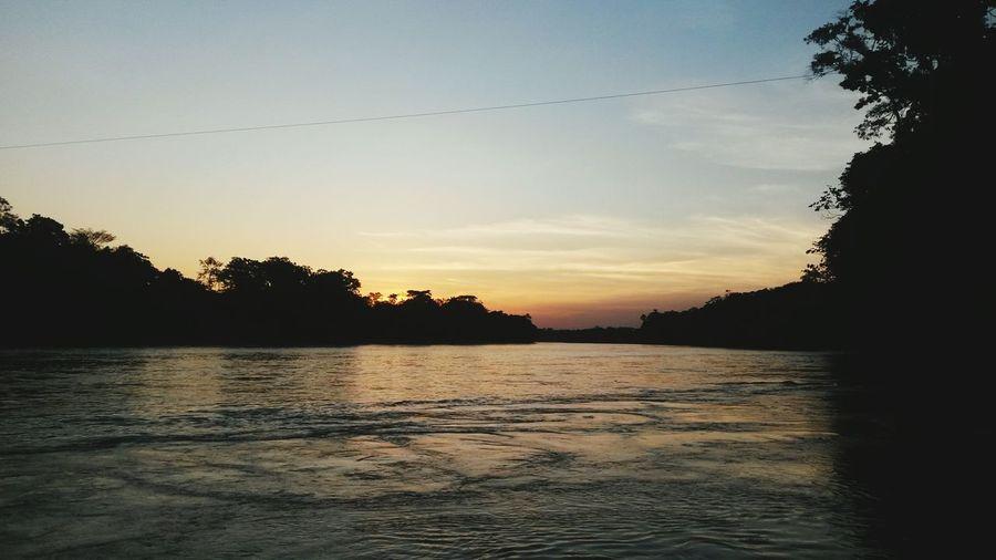 Hermoso! Atardecer Amazónico Ecuador♥ Sucumbios To Be Late Beautiful