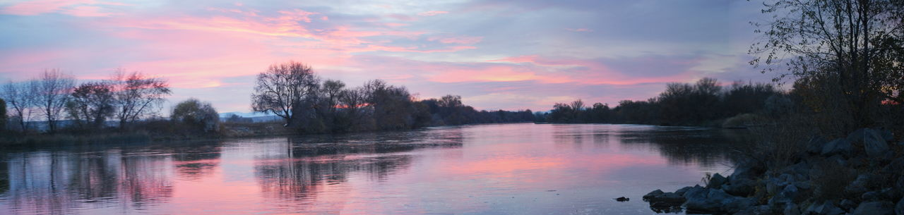 Snake River Sunrise Beauty In Nature Cloud - Sky Nature Outdoors Reflection Scenics Sky Snake River Valley Sunrise And Clouds Tranquil Scene Tranquility Tree Water