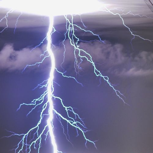 Rayo Relampago Tormenta Storm Nature Tree Sky Cloud - Sky Argentina Buenosaires Llavallol