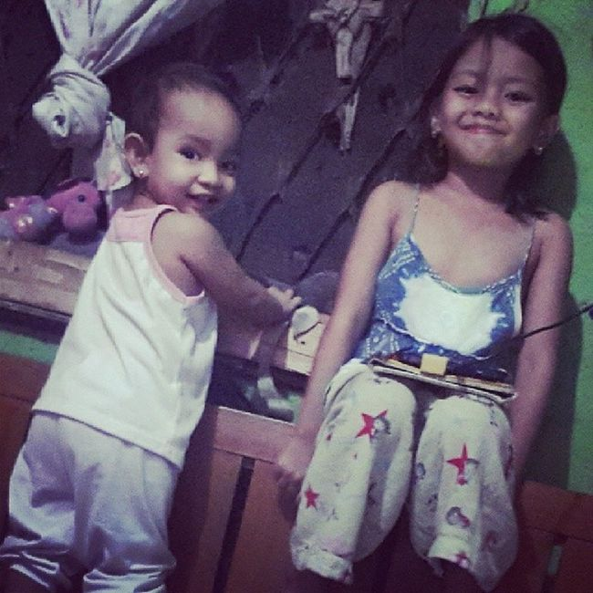 Evening with the kiddos!! ✔♚♥ Helloworld Mothermode Motherduties
